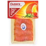 Flagman cold smoked sliced fish salmon cut 100g
