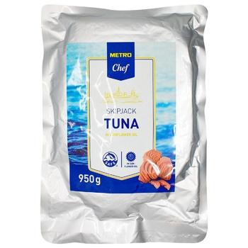 Metro Chef Tuna in Sunflower Oil 1kg