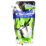 Средство для мытья посуды  Wash&Free Зеленое яблоко и экстракт эдельвейса 500г