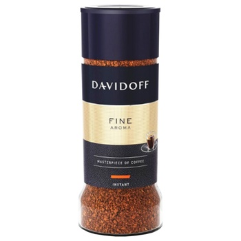 Кава Davidoff Aroma Fine розчинна 100г