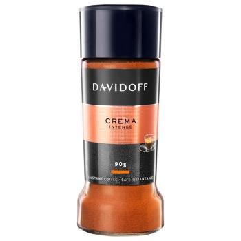 Кава Davidoff Crema Intense розчинна 90г