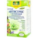Фіточай Dr. Фіто Антистрес і заспокійливий Рослинна дієтична добавка у пакетиках 20*1,5г