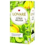 Чай Lovare Цитрус та меліса 24х1,5г