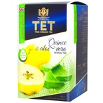 Чай зелений ТЕТ з айва та алое вера 20шт*2г