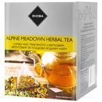 Смесь чая Rioba травяного с цветочным, фруктовым и плодово-ягодным в пакетиках-пирамидках 15шт х 2,5г