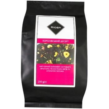 Rioba korolivsʹkyy desert black tea 250g