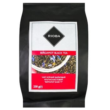 Чай Риоба черный с бергамотом 250г - купить, цены на Метро - фото 1