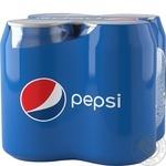 Напій Pepsi 4шт*0,33л - купити, ціни на Метро - фото 1