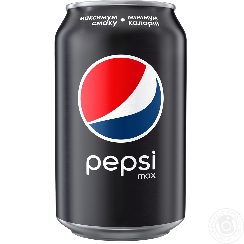 Напиток Pepsi Black 0,33л