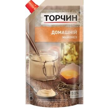 TORCHYN® Domashniy mayonnaise 300g - buy, prices for Novus - image 1