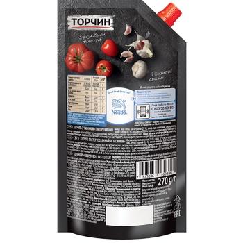 Кетчуп ТОРЧИН® з Часником 270г - купити, ціни на Novus - фото 2