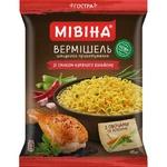 Вермишель МИВИНА® со вкусом Куриного бульона острая 60г - купить, цены на Таврия В - фото 1