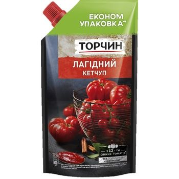 TORCHYN® Lahidny mild ketchup 400g - buy, prices for Novus - image 1