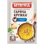 MIVINA® Hot Mug Chicken cream-soup with Croutons 12g - buy, prices for MegaMarket - image 1