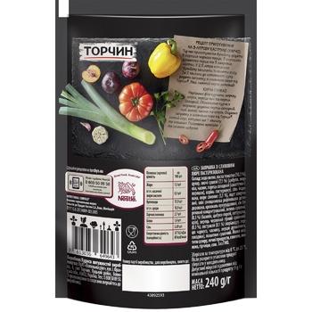 Заправка ТОРЧИН® со Сливовым пюре для первых и вторых блюд 240г - купить, цены на Novus - фото 2
