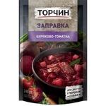Заправка ТОРЧИН® Свекольно-томатная для первых и вторых блюд 240г - купить, цены на Novus - фото 1