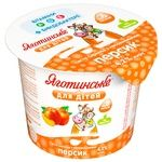 Yahotynske for Kids Peach Flavored Cottage Cheese 4,2% 100g