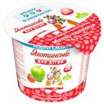 Паста творожная Яготинское для детей яблоко-клубника с 8 месяцев 4,2% 100г