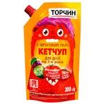 Кетчуп ТОРЧИН® для детей с фруктовым пюре 200г