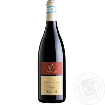 Zeni Bardolino Classico Vignealte Wine red dry 12,5% 0,75l - buy, prices for CityMarket - photo 1