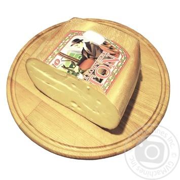 Сыр Prego Брентон копченный 45% - купить, цены на Novus - фото 1