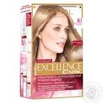 Краска для волос Loreal светло-русый пепельный - купить, цены на Ашан - фото 1
