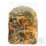 Морская капуста с морковью по-корейски