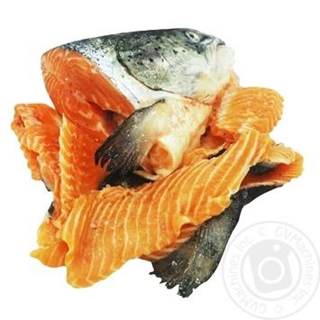 Суповий набір із лосося свіжеморожений 1кг - купити, ціни на ЕКО Маркет - фото 1