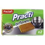 Paclan Practi Teflonex Kitchen Sponges 2pcs
