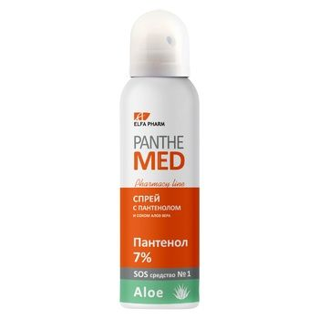 Elfa Pharm Panthe Med Spray with Panthenol and Aloe Vera 150ml