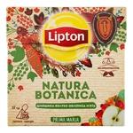 Смесь  плодово-травяных Lipton Natura Botanica с шиповником, гибискусом, кусочками яблок, облипихой и мятой в пакетиках 20х1.8г
