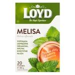 Чай травяной Loyd с мелиссой пакетированный 20шт 40г