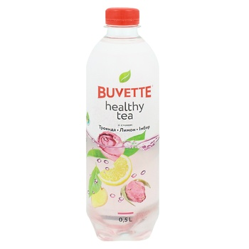 Buvette Healthy Tea Rose Lemon Ginger Non-Carbonated Drink 500ml - buy, prices for Auchan - image 1