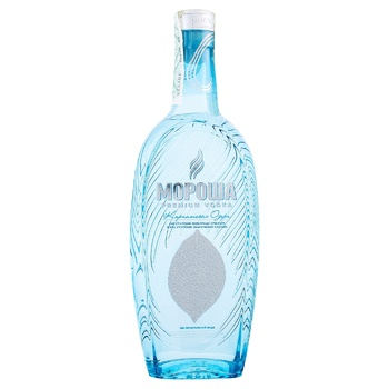 Morosha Carpathian Lakes 40% Vodka 0,5l - buy, prices for Novus - image 1