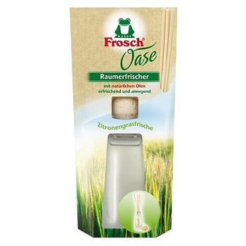 Освежитель воздуха Frosch Oase Лимонная трава 90мл - купить, цены на СитиМаркет - фото 2