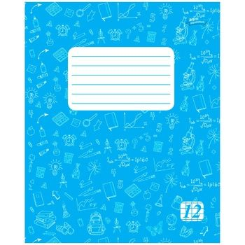 Mriyi zbuvayutʹsya Notebook for notes in line 12 sheets - buy, prices for Novus - image 1
