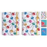 Love Notebook A5 on an elastic band of 160 sheets in stock