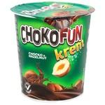 Масса Chokofun кондитерская шоколадно-ореховая 400г