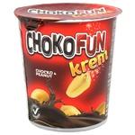 Масса Chokofun кондитерская шоколадно-арахисовая 400г