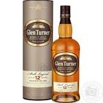 Виски Glen Turner 12 лет 40% 0,7л