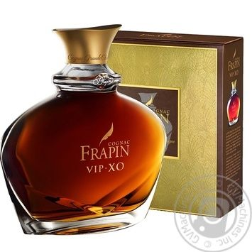 Frapin V.I.P. X.O. Cognac 40% 0.7л - buy, prices for Novus - image 1