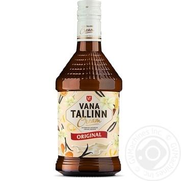 Крем-ликер Vana Tallinn 16% 500мл - купить, цены на Novus - фото 1