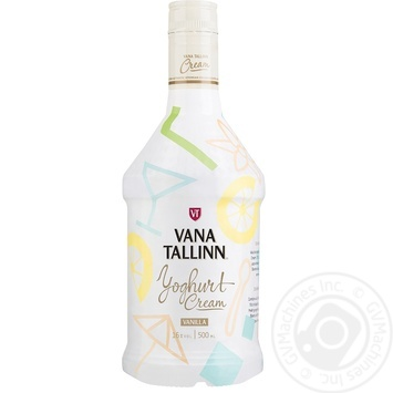 Лікер Vana Tallinn Yoghurt Cream 16% 0,5л - купити, ціни на Novus - фото 1