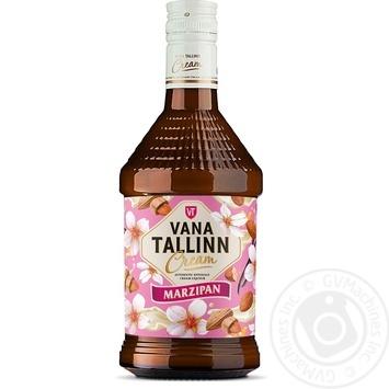 Крем-лікер Vana Tallinn Marzipan 16% 0.5л - купити, ціни на Метро - фото 1