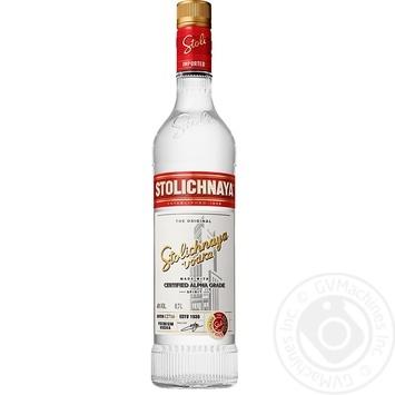 Stolichnaya Vodka 40% 0,7l - buy, prices for Novus - image 1