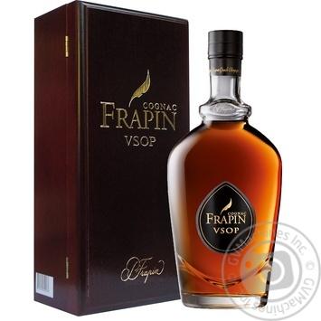 Frapin Grande Champagne V.S.O.P. cognac 40% 0,7l - buy, prices for Novus - image 1