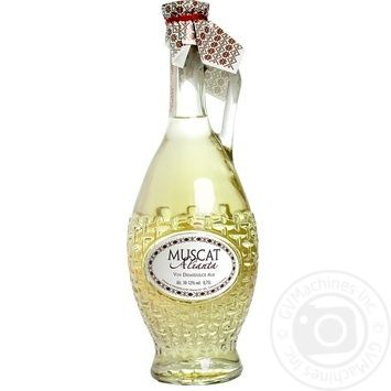 Вино Alianta-Vin Мускат біле напівсолодке 0,7л - купити, ціни на Novus - фото 1