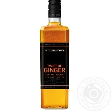 Виски Scottish Leader Twist of ginger 35% 0.7л
