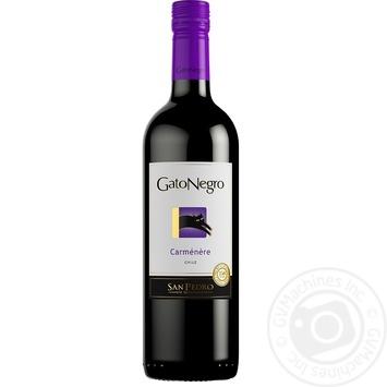 Gato Negro Carmenere red dry wine 0,75l - buy, prices for Novus - image 1