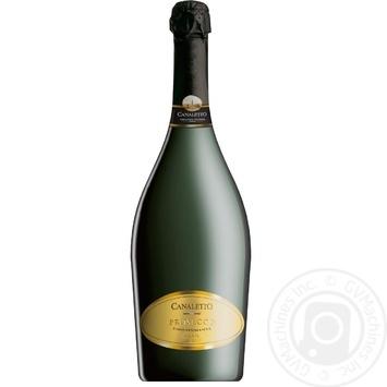 Canaletto Prosecco Brut Sparkling Wine 11% 0,75l